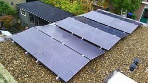 12 ZN Shine 260WP Mono Gallium panelen + KLNE Solartec omvormer en Tigo optimizers