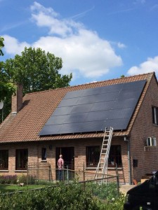 20 ZN Shine 250 WP Mono panelen + KLNE Solartec omvormer