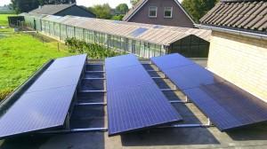 11 ZN Shine 260 WP Mono Gallium + KLNE Solartec omvormer en Tigo Optimizers