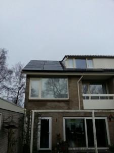 14 Risen 195 WP Mono panelen + KLNE Solartec omvormer